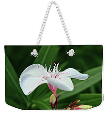 Oleander Harriet Newding  1 Weekender Tote Bag by Wilhelm Hufnagl