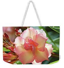 Oleander Mrs. Roeding 1 Weekender Tote Bag