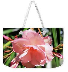Oleander Mrs. Roeding 3 Weekender Tote Bag