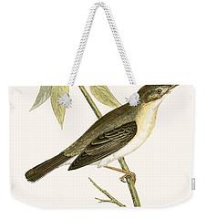 Olivaceous Warbler Weekender Tote Bag by English School