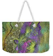 Olive Garden With Lavender Weekender Tote Bag