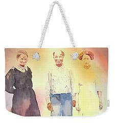 Olive, John And Anna Weekender Tote Bag