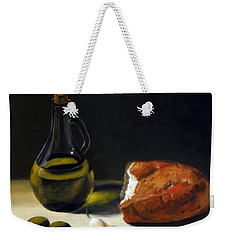 Olive Oil And Bread Weekender Tote Bag