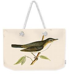 Olive Tree Warbler Weekender Tote Bag by English School