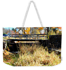Oliver Mill Park Weekender Tote Bag by Catherine Gagne
