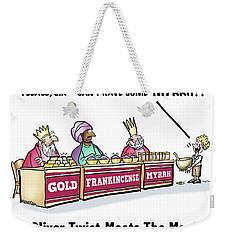 Oliver Wants Some Myrrh Weekender Tote Bag