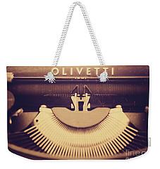 Olivetti Typewriter Weekender Tote Bag