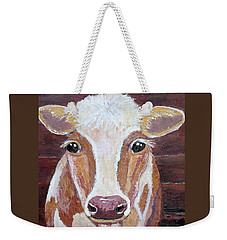 Olivia's Portrait Weekender Tote Bag by Suzanne Theis