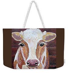 Olivia's Portrait Weekender Tote Bag