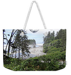 Olympic National Park Beach Weekender Tote Bag by Tony Mathews