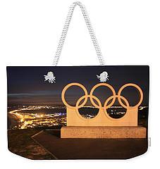 Olympic Rings Portland  Weekender Tote Bag