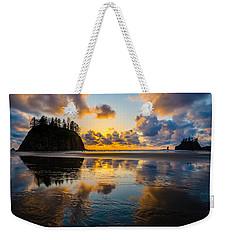 Olympic Sunset Glow Weekender Tote Bag