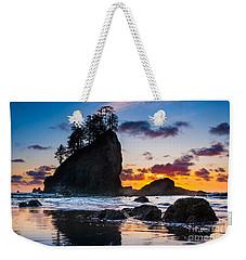 Olympic Sunset Weekender Tote Bag