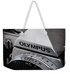 Weekender Tote Bag featuring the photograph Om-1 - D010028b by Daniel Dempster