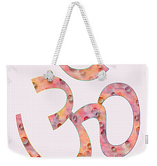 Om Symbol Digital Painting Weekender Tote Bag by Georgeta Blanaru