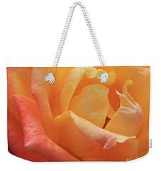Ombre Rose Weekender Tote Bag