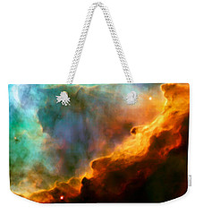 Omega Swan Nebula 3 Weekender Tote Bag by Jennifer Rondinelli Reilly - Fine Art Photography