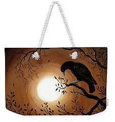 Ominous Bird Of Yore Weekender Tote Bag