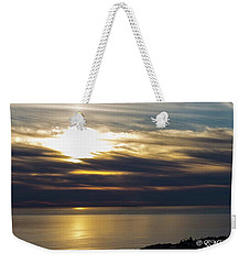 Ominous Sunset Weekender Tote Bag