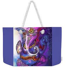 Omkareshvar Ganesha Weekender Tote Bag