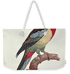 Omnicolored Parakeet Weekender Tote Bag by Jacques Barraband