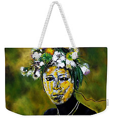Omo Valley Tribal Face Paint Weekender Tote Bag