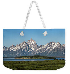 Weekender Tote Bag featuring the photograph On A Clear Day by Jan Davies