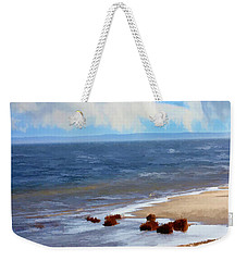 On A Clear Day Weekender Tote Bag by Judy Palkimas
