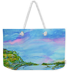 On A Clear Day Weekender Tote Bag by Susan D Moody