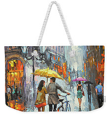 On A Cloudy Day  Weekender Tote Bag