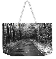 On A Drizzly Day Weekender Tote Bag