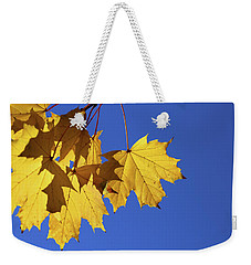 On A Fall Day 1 Weekender Tote Bag