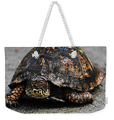 Weekender Tote Bag featuring the photograph On A Mission by Skip Willits