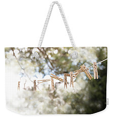 On A Sunday Weekender Tote Bag by Angie Rea