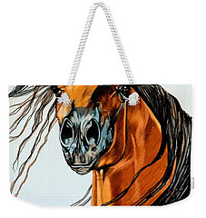 On A Windy Day-dream Horse Series #2003 Weekender Tote Bag