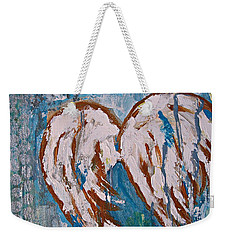 On Angel Wings Weekender Tote Bag
