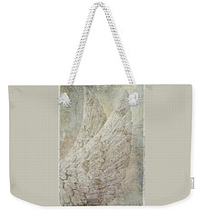 On Angels Wings Weekender Tote Bag