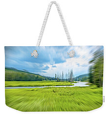 On Approach Weekender Tote Bag by Mark Dunton