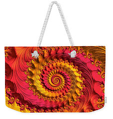 On Being Bold And Beautiful Weekender Tote Bag by Susan Maxwell Schmidt