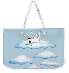 On Cloud Nine Weekender Tote Bag