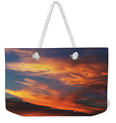 On Eagle's Wings Weekender Tote Bag