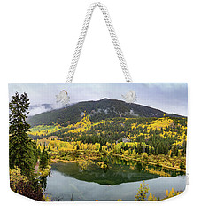 On Golden Pond Weekender Tote Bag by Tim Stanley