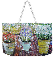 On Grandma's Porch Weekender Tote Bag
