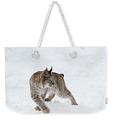 On High Alert Weekender Tote Bag