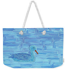 On His Way IIi Weekender Tote Bag