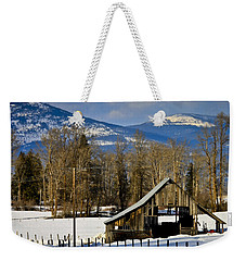 On Hold Weekender Tote Bag