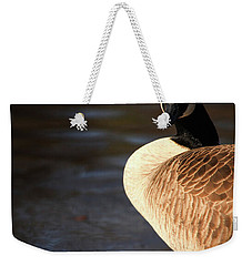 Weekender Tote Bag featuring the photograph On Ice by Karol Livote