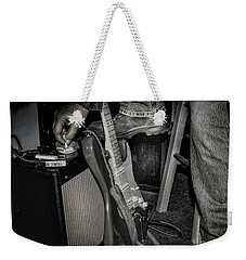 Weekender Tote Bag featuring the photograph On In Two Minutes by Robert Frederick
