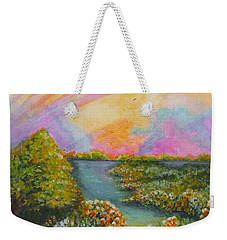 On My Way Weekender Tote Bag by Holly Carmichael