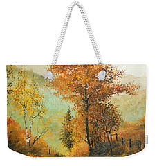 On My Way Home Weekender Tote Bag